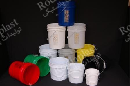 تولید سطل پلاستیکی