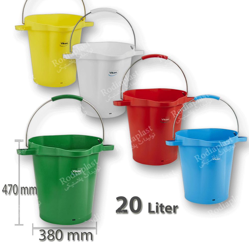 انواع سطل پلاستیکی
