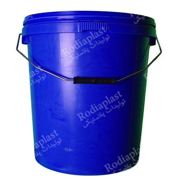 سطل پلاستیکی ساده