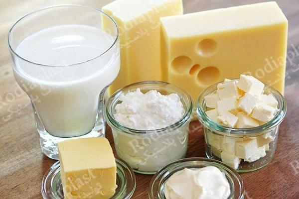 سطل لبنیات پنیر ماست