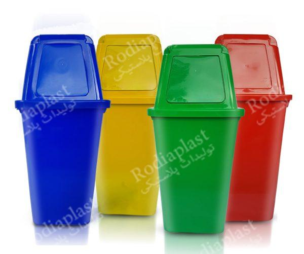 سایزسطل زباله های موجود در بازار