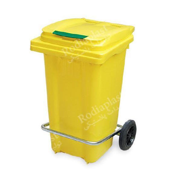 سطل زباله پدالدار 100 لیتری