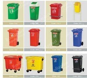 سطل زباله ارزان پلاستیکی