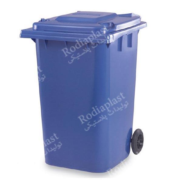 سطل زباله بزرگ درب دار