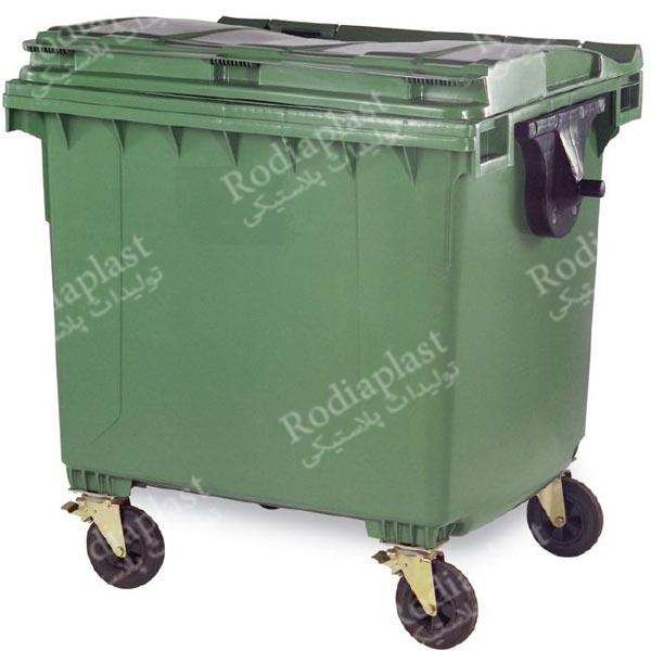 سطل زباله بزرگ