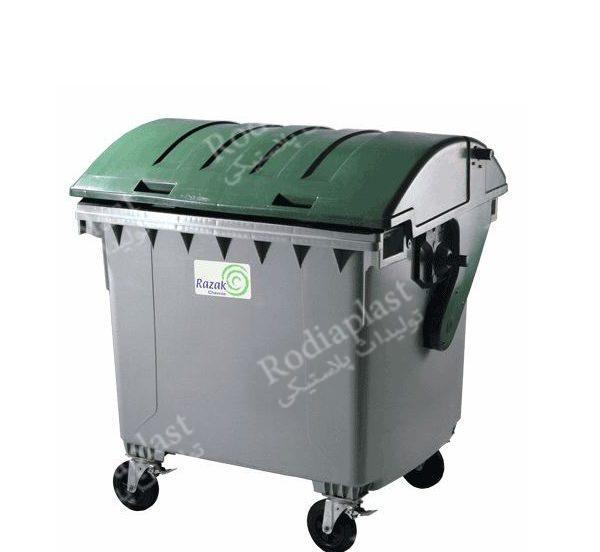 سطل زباله چرخدار قوسی