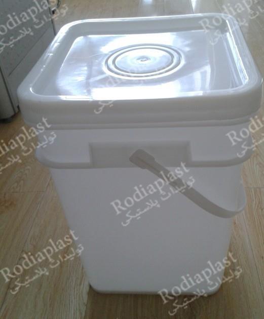 سطل شفاف 15 لیتری