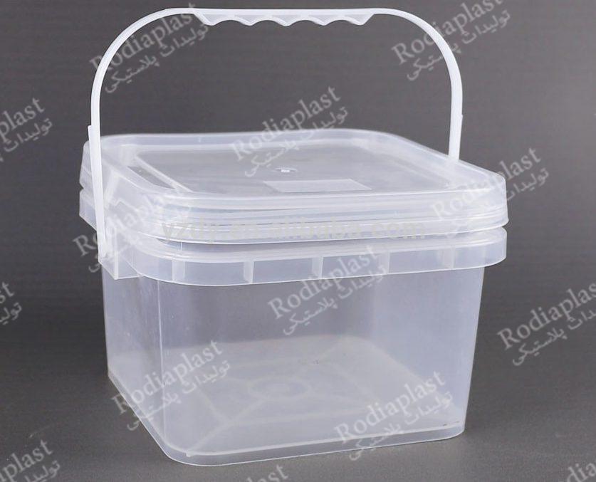 سطل پلاستیکی ارزان