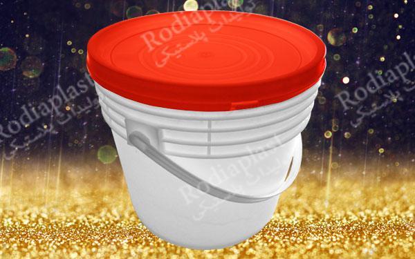 سطل 10 کیلویی پلاستیکی