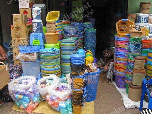 پخش سطل پلاستیکی