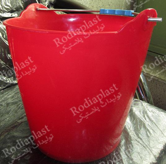 سطل پلاستیکی بنایی