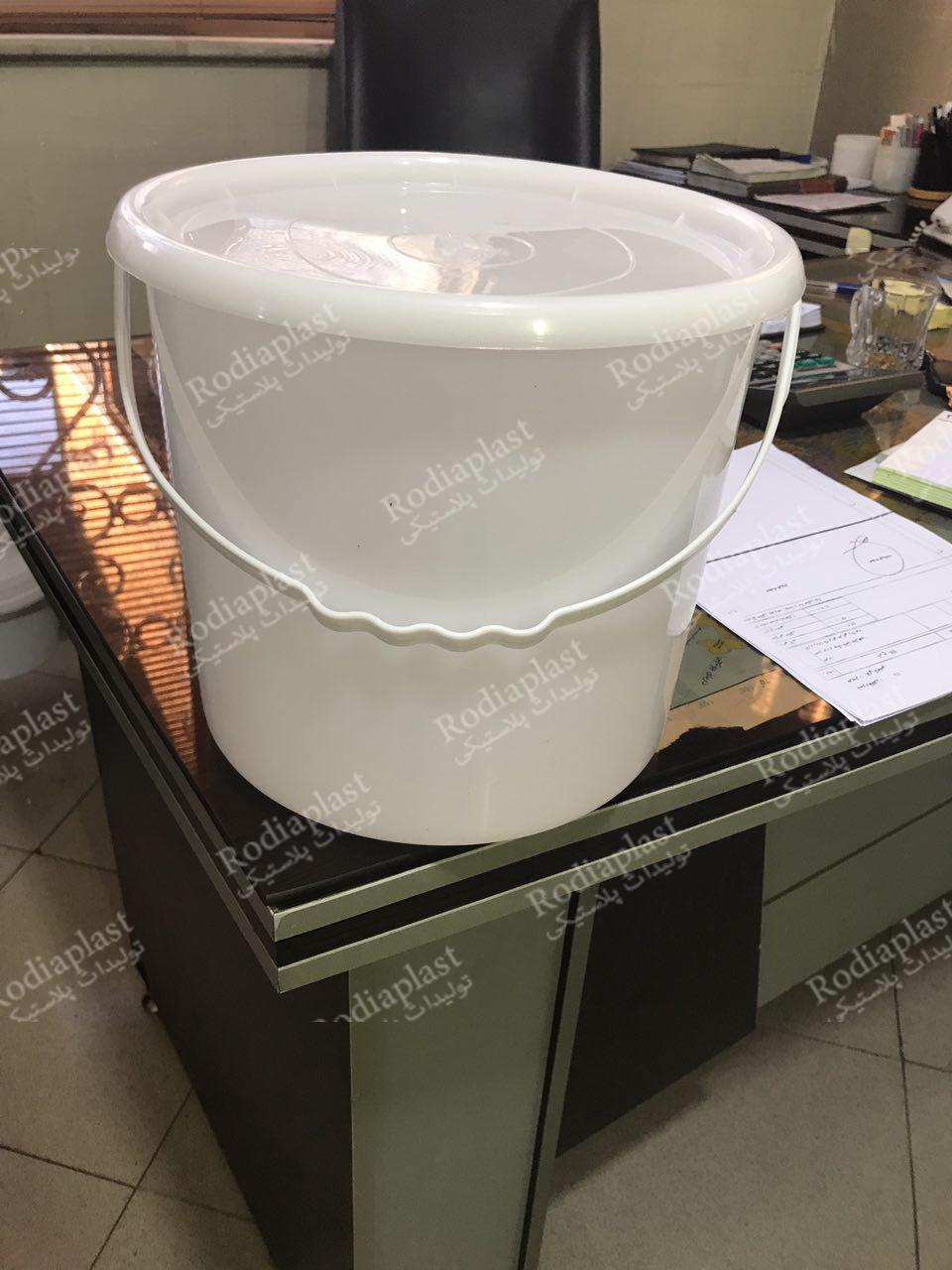 سطل پلاستیکی 10 لیتری