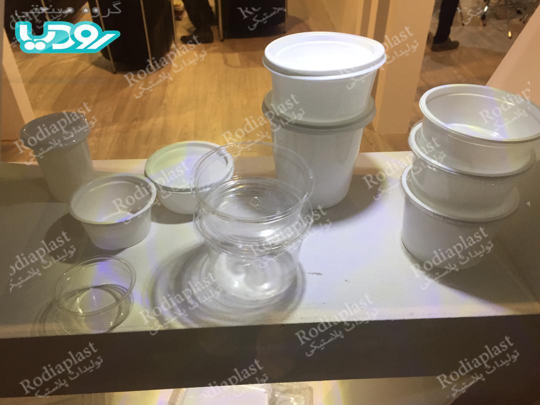 سطل شفاف پلاستیکی