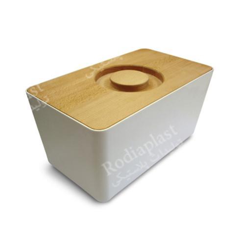 سطل برنج طرح چوب