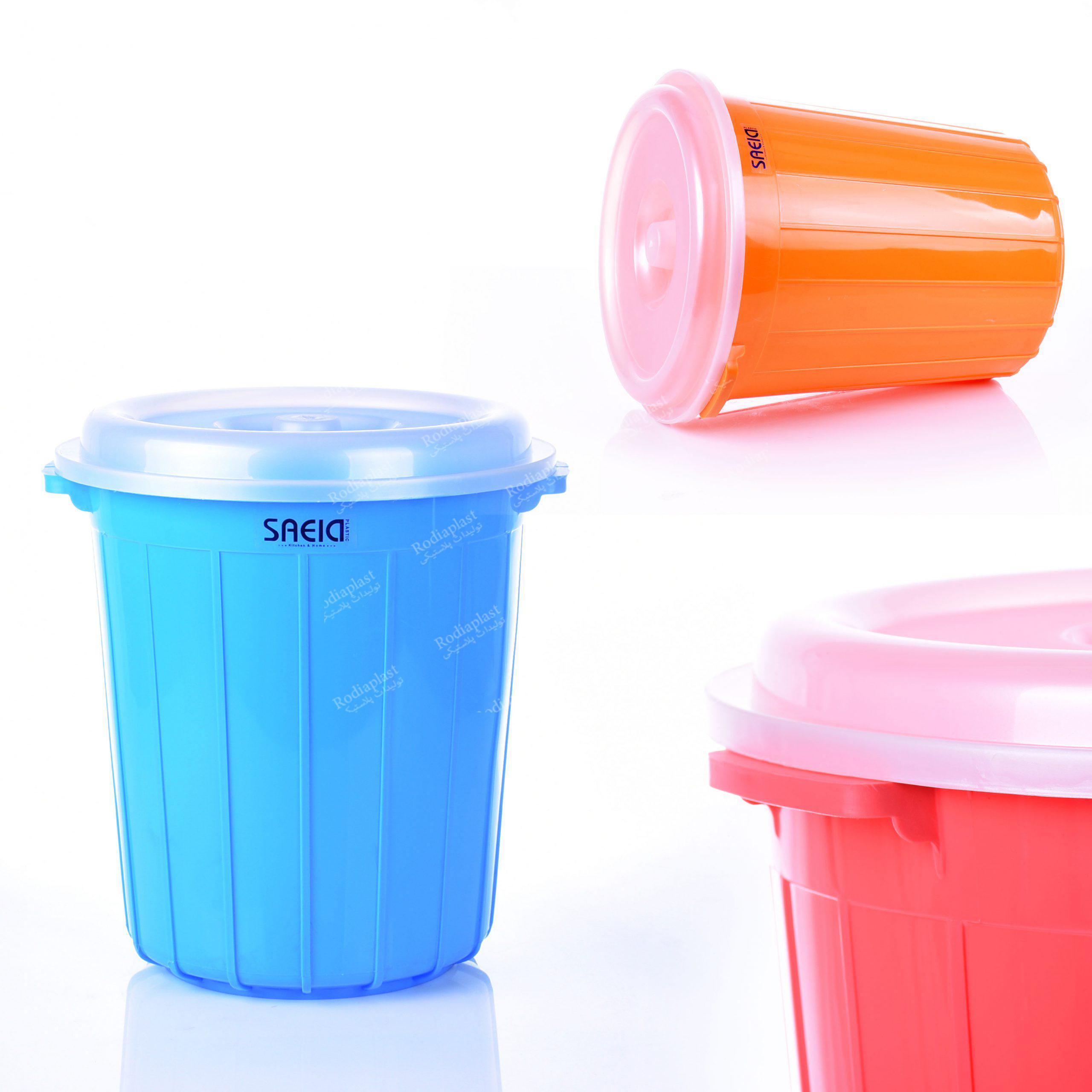 سطل همه کاره پلاستیکی