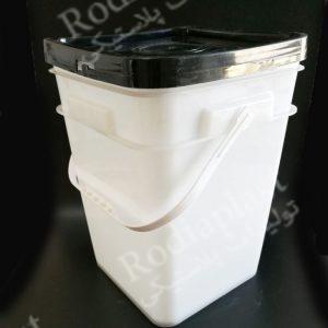 سطل پلاستیکی مربع شکل