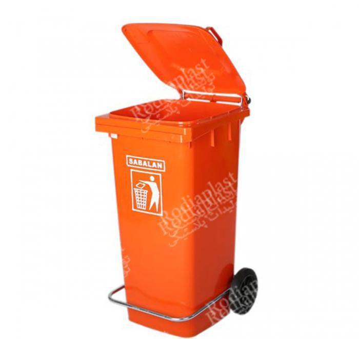 قیمت سطل زباله 120 لیتری+ عکس