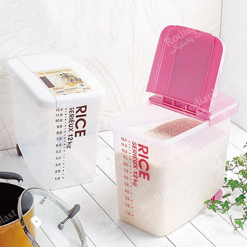 سطل پلاستیکی برنج