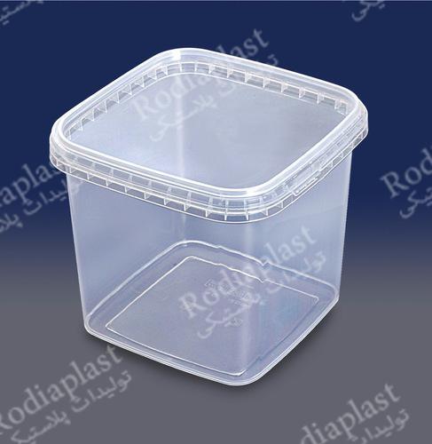 سطل شفاف ماستی