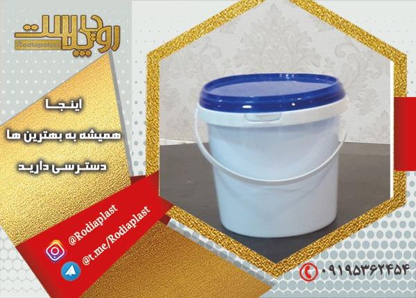 مدلهای سطل ماستی پلاستیکی از نظر ظرفیت