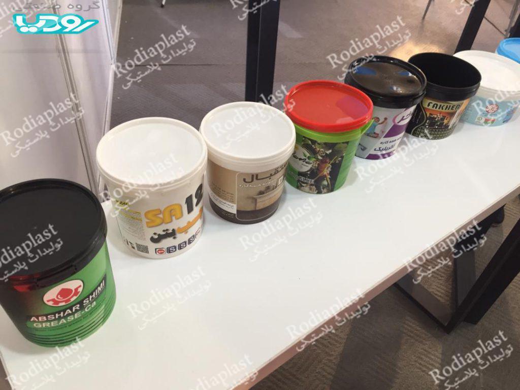 عرضه انواع سطل رنگ در ابعاد گوناگون