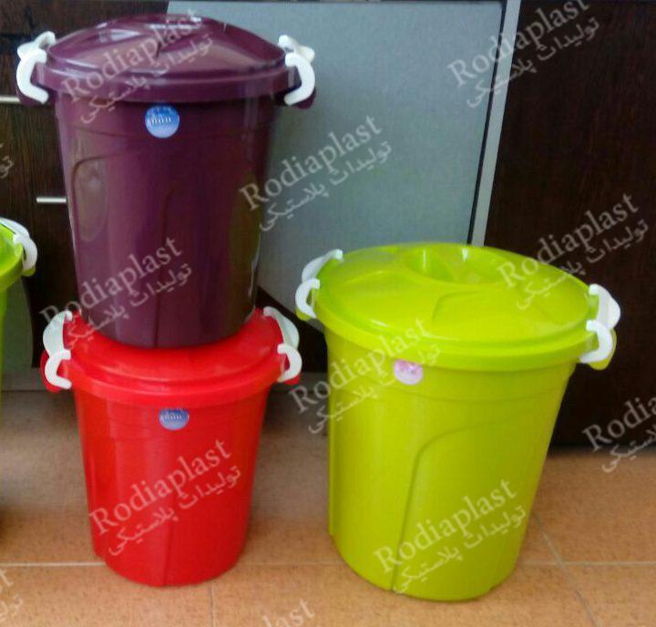 سطل برنج پلاستیکی
