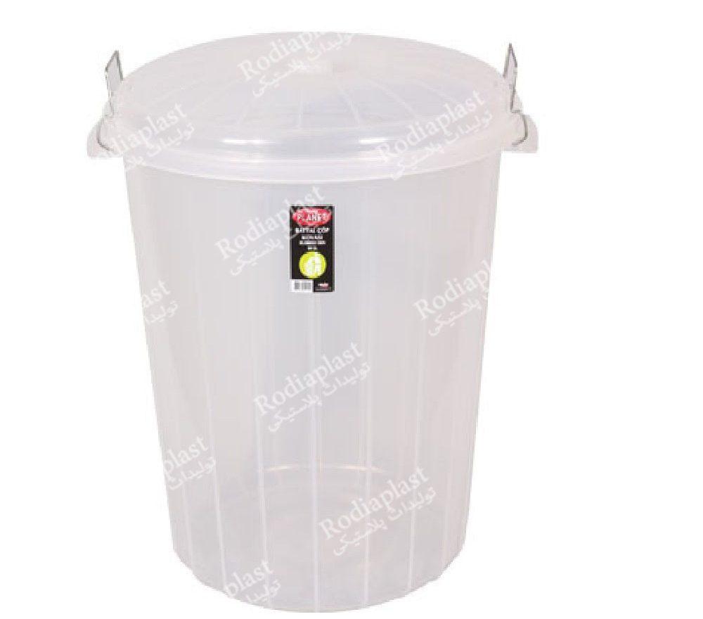 سطل زباله شفاف