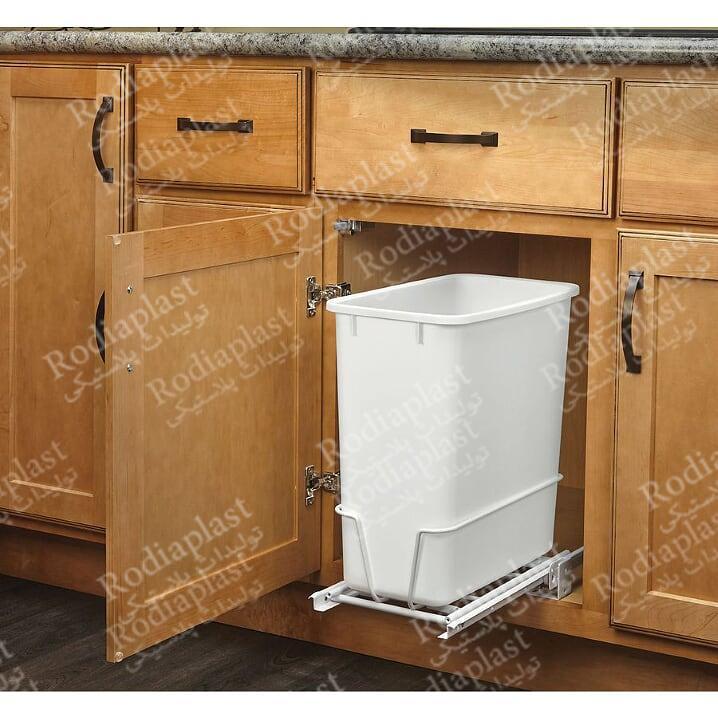 سطل زباله زیر کابینت