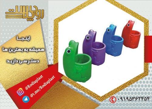 خلاقیت در تولید سطل زباله کودکانه