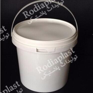 تولید و فروش سطل پلاستیکی6 کیلویی