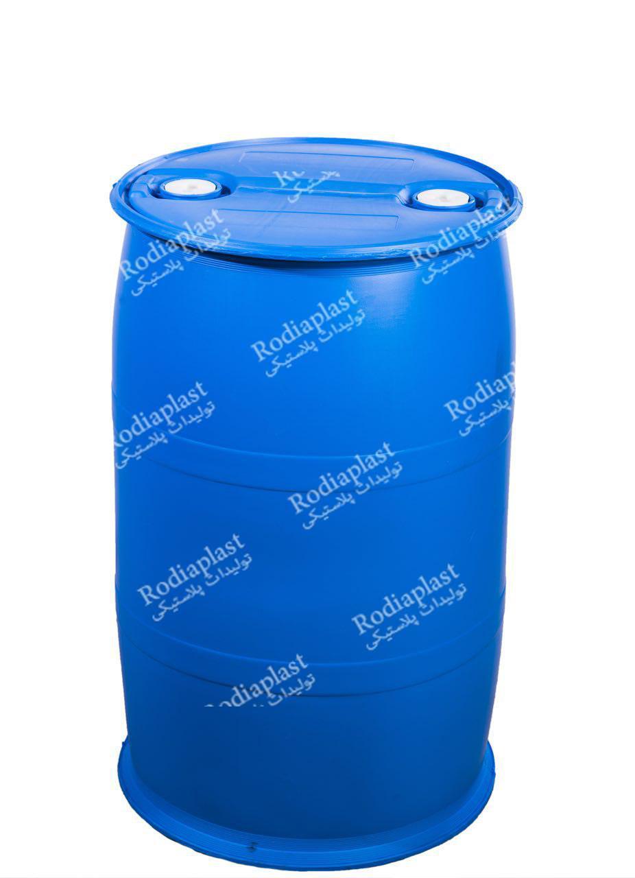 بشکه ۲۲۰ لیتری پلاستیکی