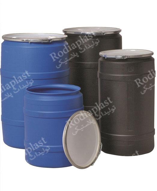 انواع بشکه پلاستیکی ۲۲۰ لیتری