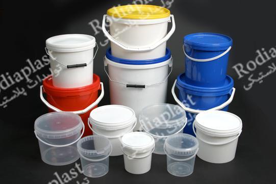 سطل پلاستیکی و انواع دبه