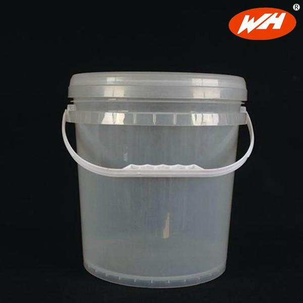 قیمت سطل پلاستیکی دسته دار و شفاف