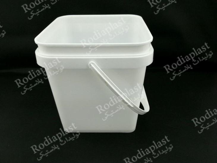 سطل پلاستیکی مربع