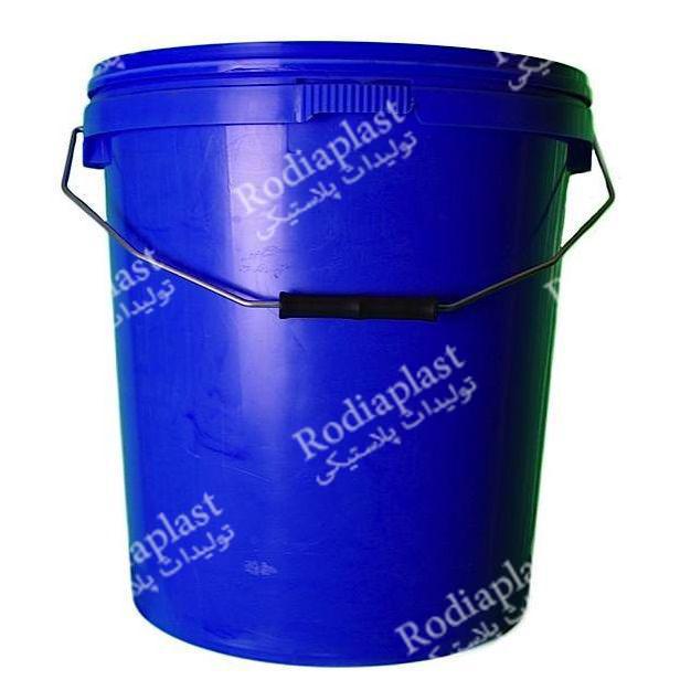 سطل پلاستیکی روغن