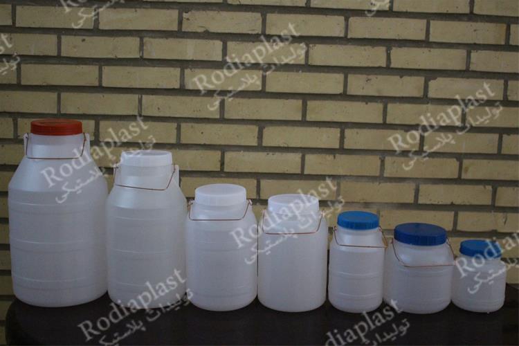 استفاده دبه پلاستیکی کوچک برای کدام نوع مواد مجاز است؟