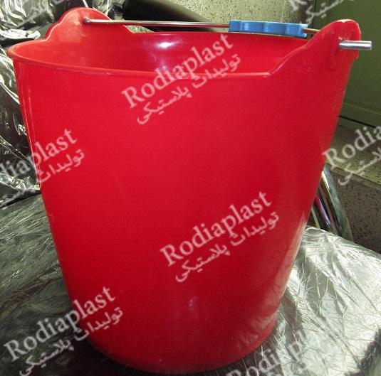 تولید سطل پلاستیکی بنایی