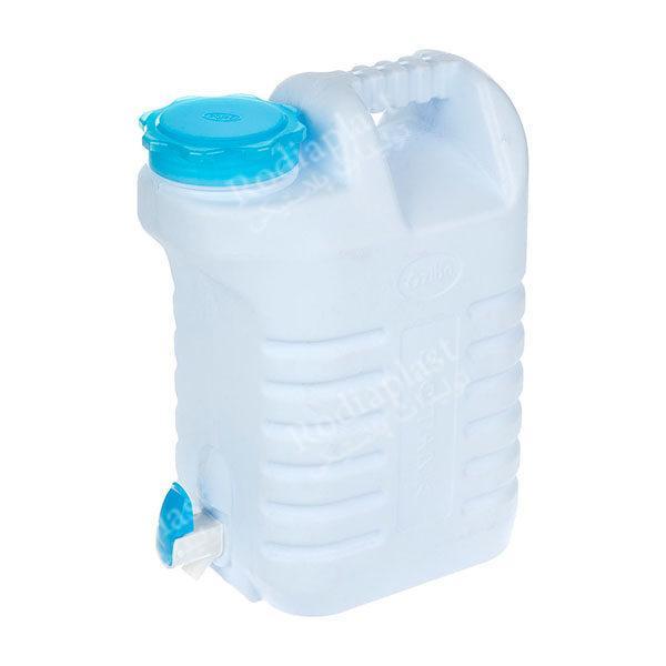 دبه پلاستیکی شیردار
