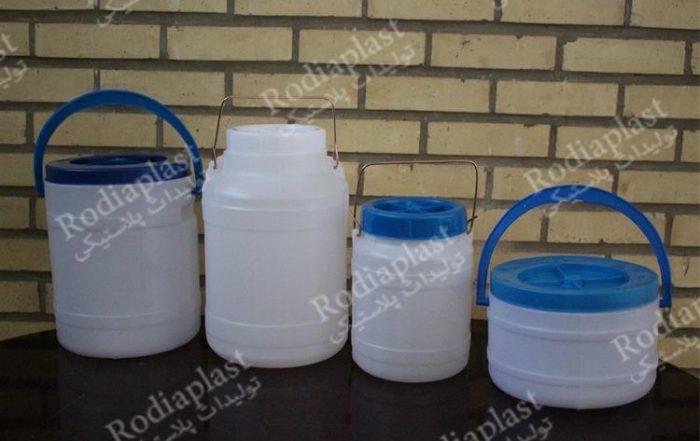فروش دبه پلاستیکی درب دار با جدیدترین قیمت های بازار