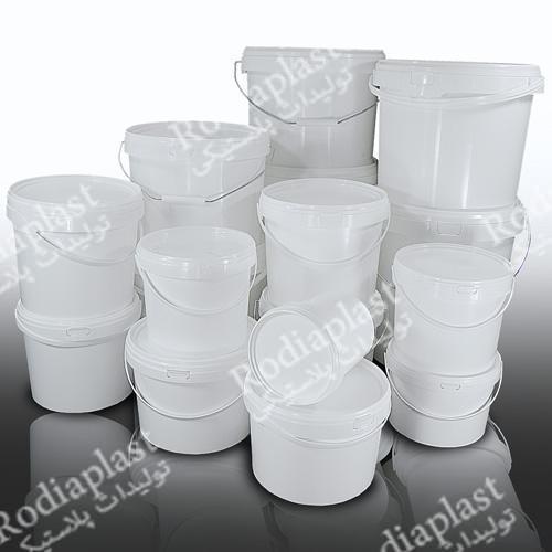 خرید سطل رنگ پلاستیک