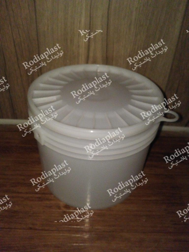 سطل پلاستیکی پلمپ