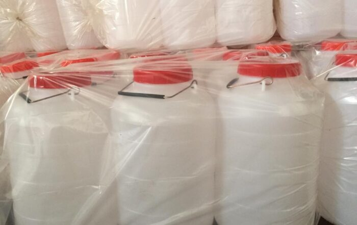 قیمت عمده انواع دبه پلاستیکی صنعتی در بازار