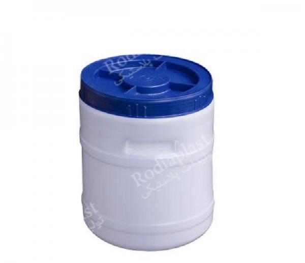 مصارف بشکه و دبه پلاستیکی 30 لیتری گرد و مکعبی