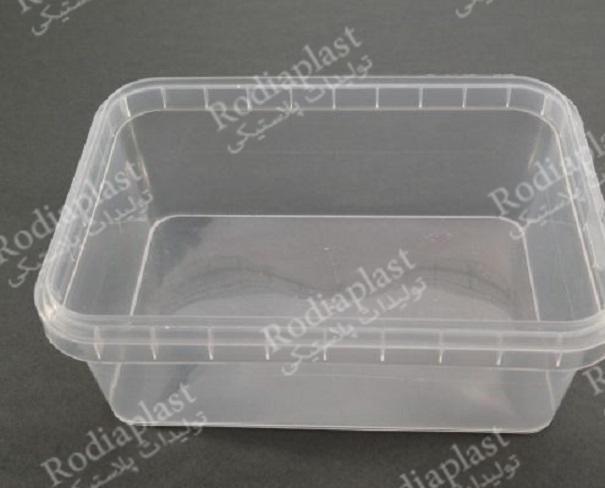 مدل های ظرف یک کیلویی پلاستیکی