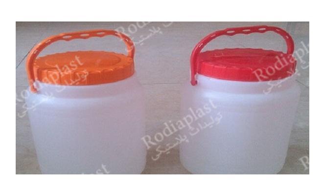 تولید دبه پلاستیکی یک لیتری با طراحی ویژه و کاربردی