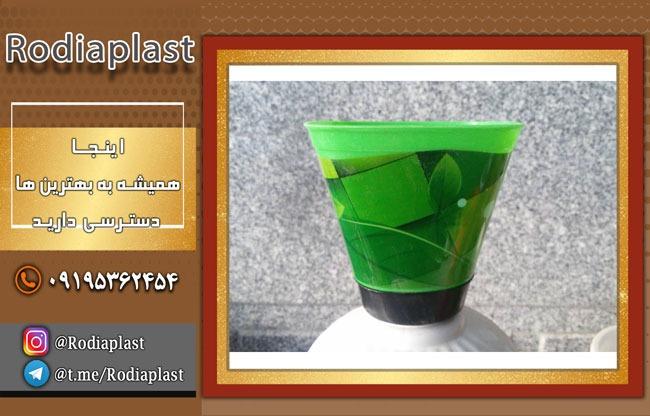 پخش عمده گلدان پلاستیکی درجه یک طرح دار شیک با بهترین قیمت